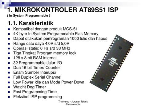 Buku Panduan Praktis Pemrograman Avr Microkontroler At90s2313 microcontroller 8051