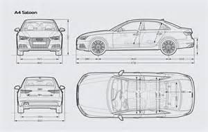 Size Of Audi A4 Audi A4 Saloon Audi Uk