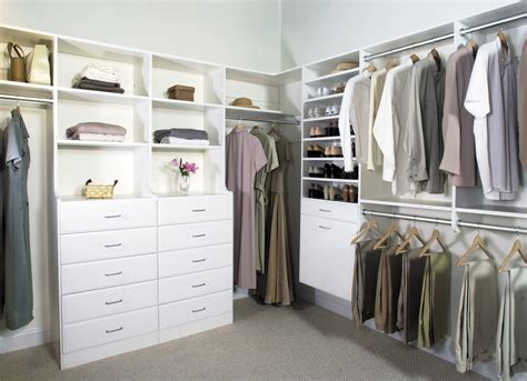 Walk In Closet Systems custom closets
