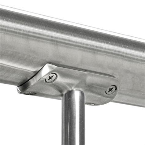 Stainless Steel Banister Rail by Post Cap Top Rail Mount For 2 Quot Stainless Steel Posts