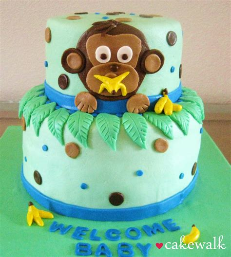 Baby Shower Monkey Cakes by Monkey Cakes I On Curious George Cakes