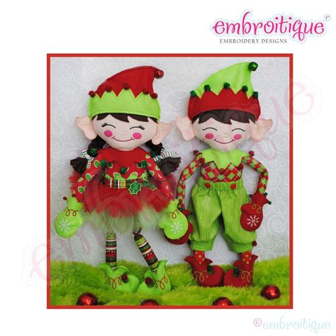 pattern for a christmas elf elfis elfira as seen in dime magazine christmas elf