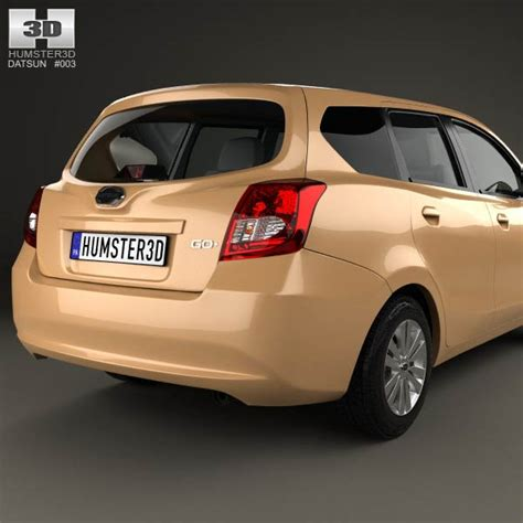 Spare Part Datsun Go Plus datsun go plus 2014 3d model hum3d