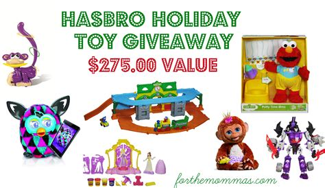 Toy Giveaways - hasbro holiday toy giveaway 275 00 value ftm