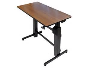 Best Adjustable Desk by 1 Adjustable Height Desk On Best Standing Desks