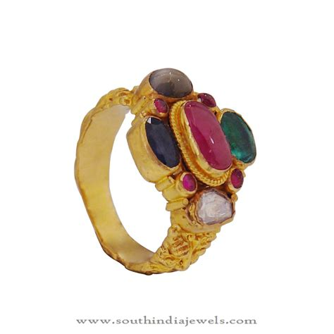 gold ring design from prince jewellery south india jewels