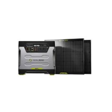 goal zero yeti 1250 30 watt solar generator kit 39004