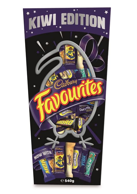 Cadbury Favourites cadbury has just released a kiwi version of favourites