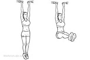 Momentum Chair Hanging Leg Raise Illustrated Exercise Guide Workoutlabs