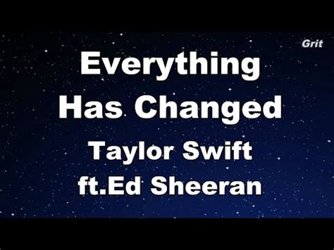 free download mp3 ed sheeran everything you are 5 84 mb free everything has changed karaoke mp3 download