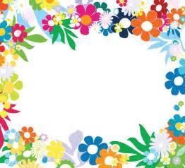 colorful frames floral colorful frames frames borders
