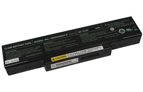 Baterry Axioo M660 Bat M740bat New Battery For Clevo M740bat 6 Clevo M740bat 6 Laptop