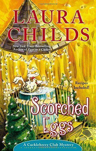 egg drop dead a cackleberry club mystery books scorched eggs by childs