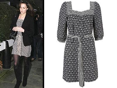 Get Look Kate Middletons Topshop Tunic Dress by Chief Bridesmaid Wedding Saving Expert Budget Wedding