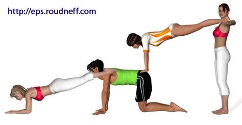 imagenes de yoga de tres personas club mpm baile y acrosport