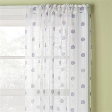 Polka Dot Sheer Curtains Polka Dot Curtains Connor And Allegra Pinterest