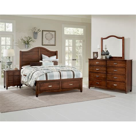 shiplap furniture vaughan bassett american maple solid wood queen shiplap