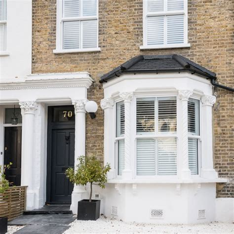 wetroom tasteful period terrace house tour housetohome check out this cool calm and collected victorian terrace