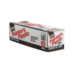 berry highdensity plastic drop 626263 high density professional painter s plastic clear