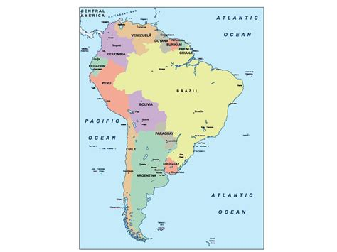 america map ppt south america presentation map our cartographers