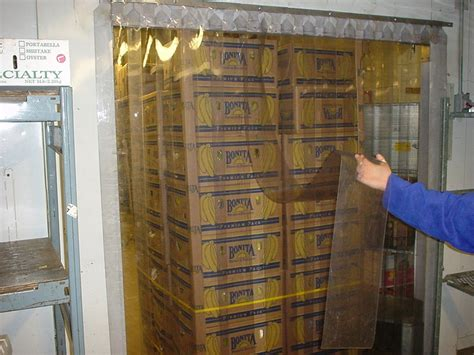 strip curtains for walk in freezers walk in cooler strip curtains doors by stripcurtains
