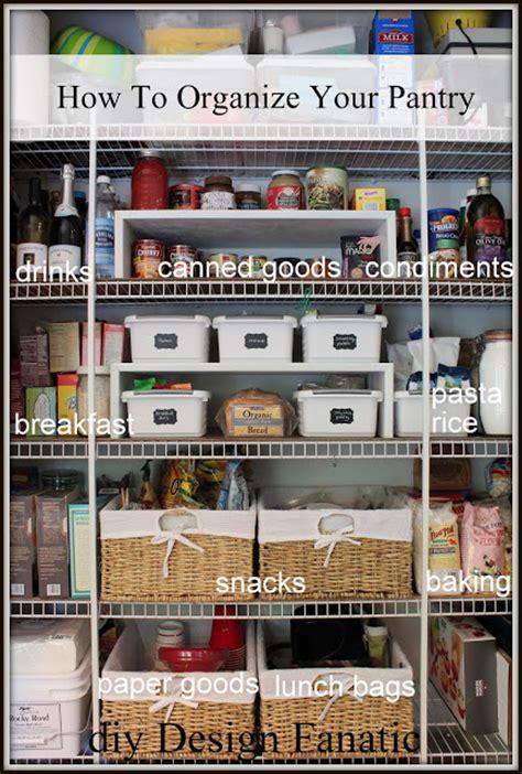 6 six tips to organize your pantry diy design fanatic how to organize your pantry