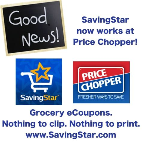free printable grocery coupons price chopper price chopper accepts savingstar ecoupons
