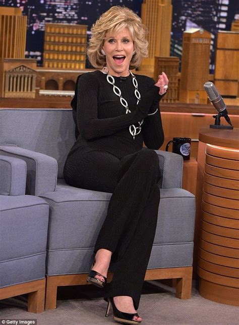 michelle rodriguez jimmy fallon jane fonda 77 looks years younger as she chats with