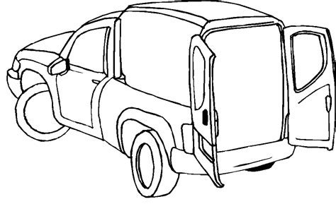 Sketch Of Dodge Pickup Truck Coloring Pages Dodge Truck Coloring Pages