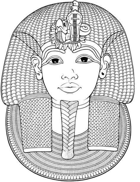 Ausmalen Erwachsene Agypten 196 Gypten Totenmaske Von Coloring Books For Teens L