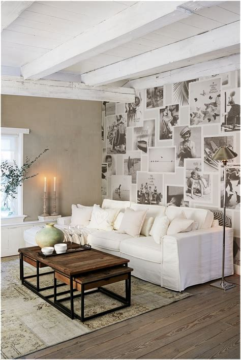 creative living room feature wall ideas