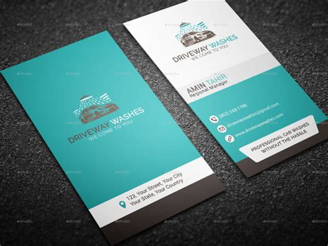 car cleaning business card template 19 car wash business card templates free premium
