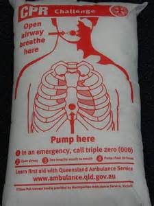cpr challenge and learn cpr on a pillow abc capricornia