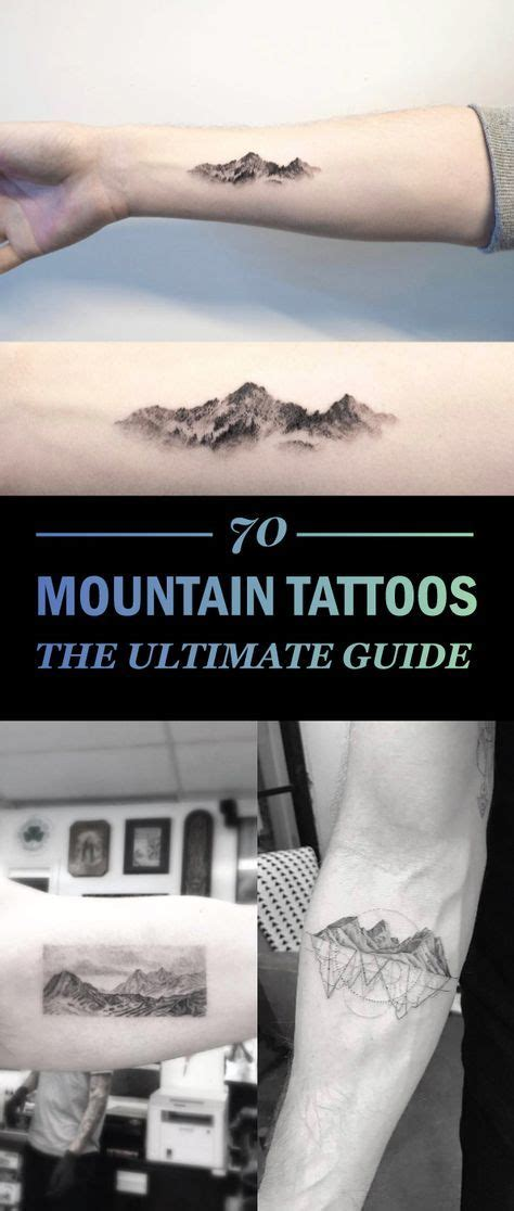 the ultimate tattoo best 25 mountain tattoos ideas on mountain