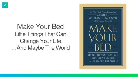 make your bed change your life huffpost make your bed little things that can change your life