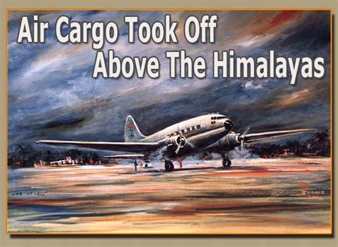 air cargo took above the himalayas