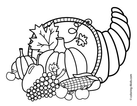 coloring pages thanksgiving happy thanksgiving coloring pages to and print
