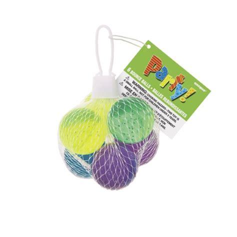 Supplier 4th Bag In Bag Isi 6 Pcs Murah glitter bounce balls bag filler 6pcs