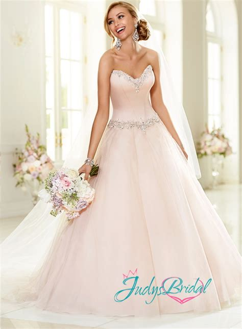 blush colored wedding dresses blush colored bridal gowns and 2016 2017 fashion gossip