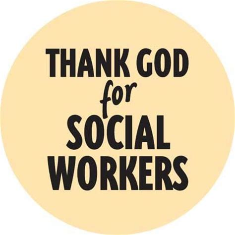 thank god for social workers print and posters