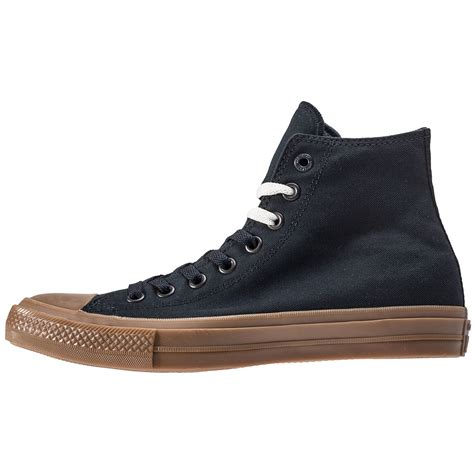 Sepatu Converse All Chuck Ii Black Sole Gum converse chuck all ii hi mens trainers in