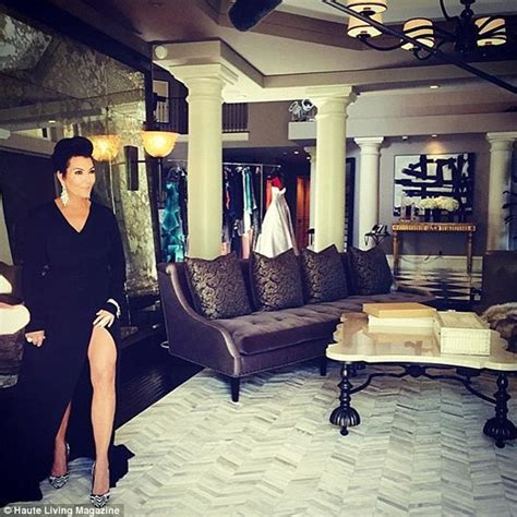 kris jenners address kris jenner shines in silver gown for haute living cover