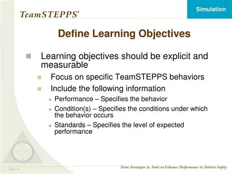 ppt using simulation in teamstepps 174 powerpoint