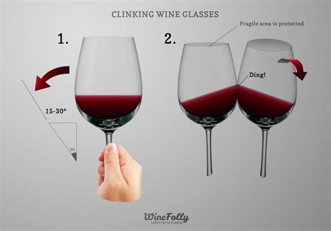 tips on clinking wine glasses wine folly