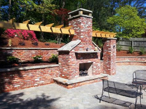 Outdoor Stacked Fireplace by Outdoor Stacked Fireplace Our Outdoor Kitchens And