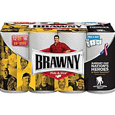 Who Makes Brawny Paper Towels - brawny paper towels select a size 12 roll pack 9 99 was