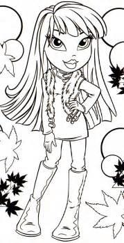pics photos coloring book bratz doll screenshot