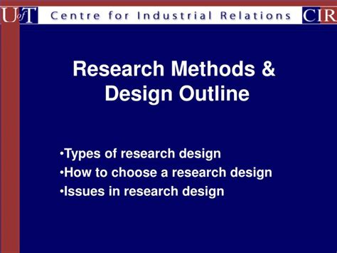 research design powerpoint slides ppt research methods design outline powerpoint