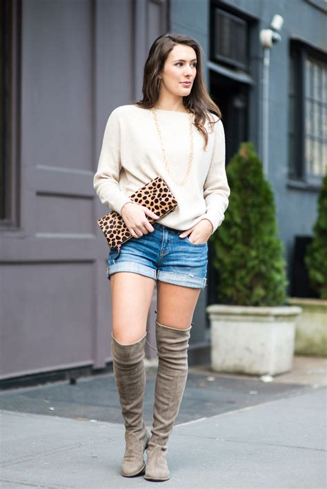 shorts with boots the knee for bonjour blue