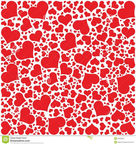valentines day pattern hearts pattern happy valentines day stock vector